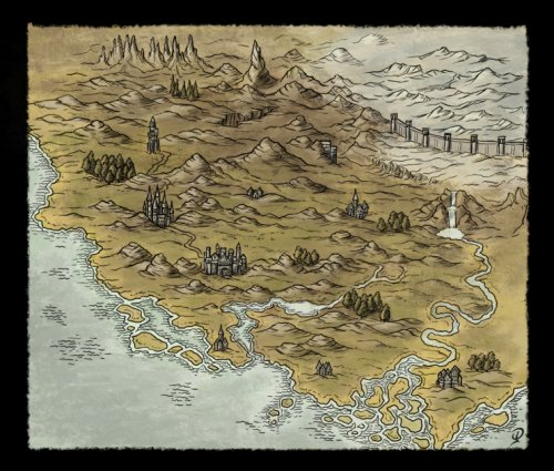 Small Fantasy Map