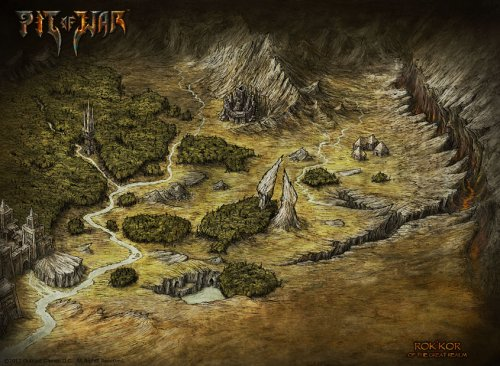 Pit of War Map