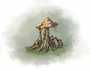 Mushroom House
