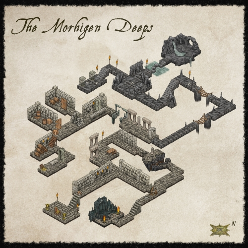 ProFantasy Dungeon Map Preview