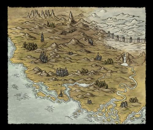 Small Fantasy Map