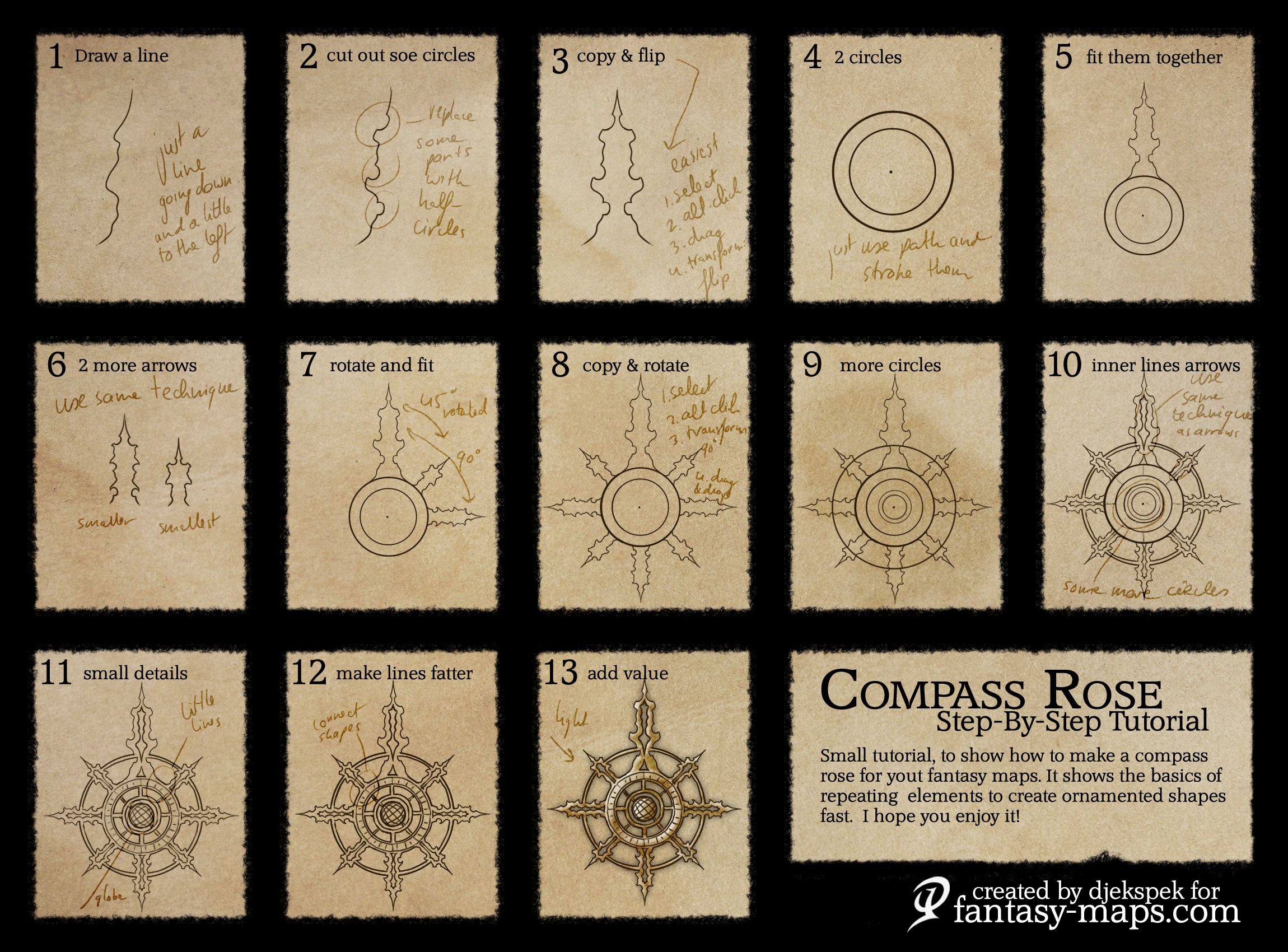 How To Draw Fantasy Maps Tutorials | Fantasy Maps