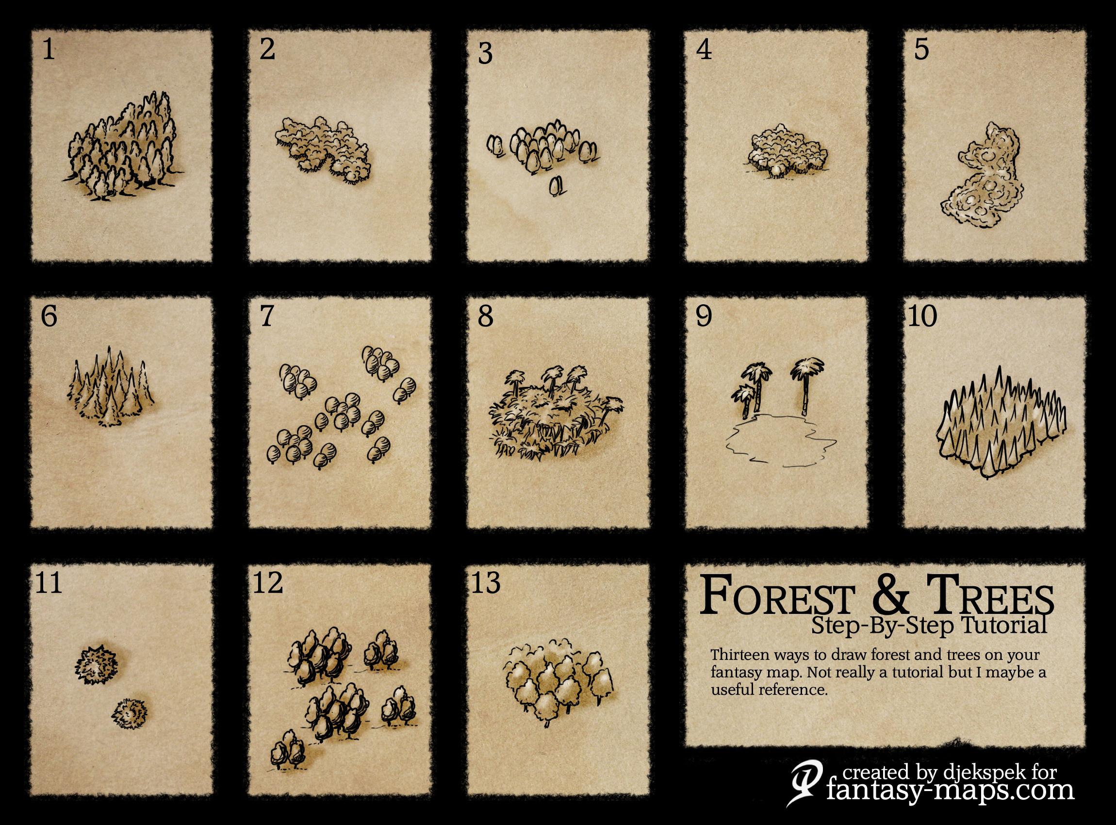 tutorials fantasy maps