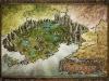 Fantasy Map Kingdom of Rarkonir